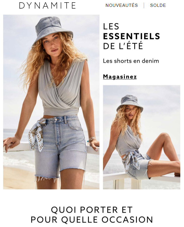 Les Héros De La Canicule : Les Shorts En Denim