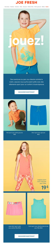 Nouveaux Vêtements Sport D