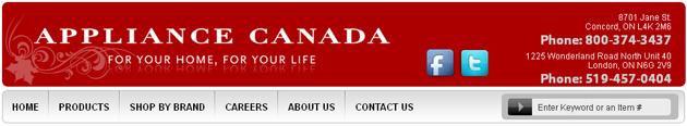 Appliance Canada Online Flyer