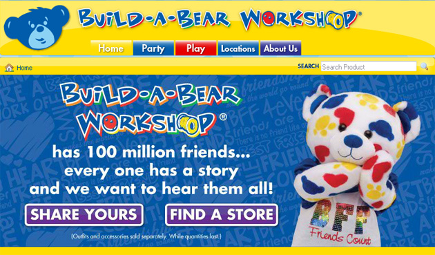 Build A Bear Workshop Online