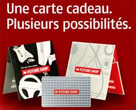 Carte Cadeau Future Shop
