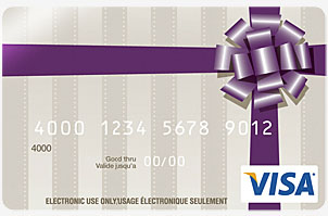 Carte Cadeau Visa En Ligne