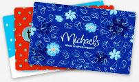 Cartes Cadeaux Michaels