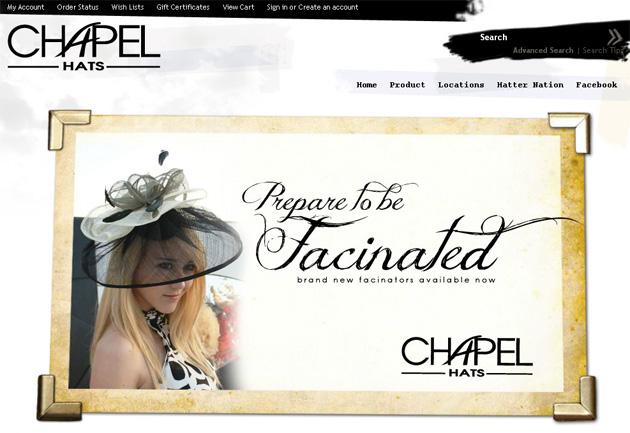Chapel Hats Online Store