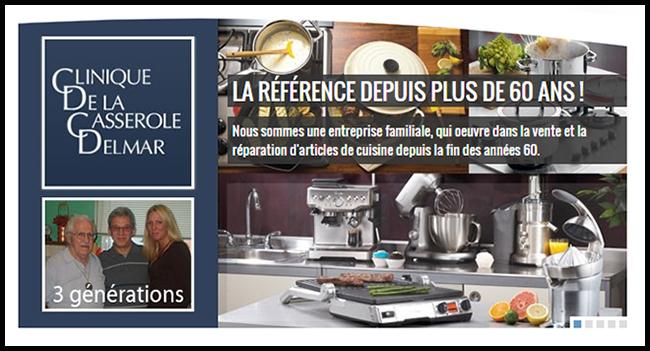 Clinique De La Casserole Delmar Articles De Cuisine