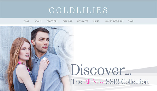 Coldlilies On Line Fine Designer Jewellery