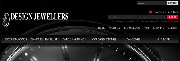 Design Jewellers Online Store