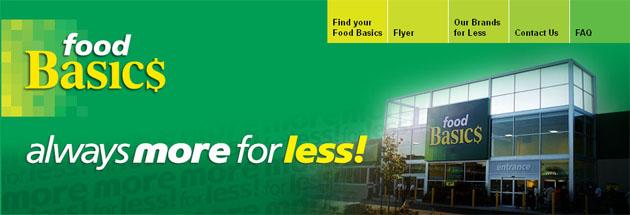 Food Basics Weekly Flyer Online