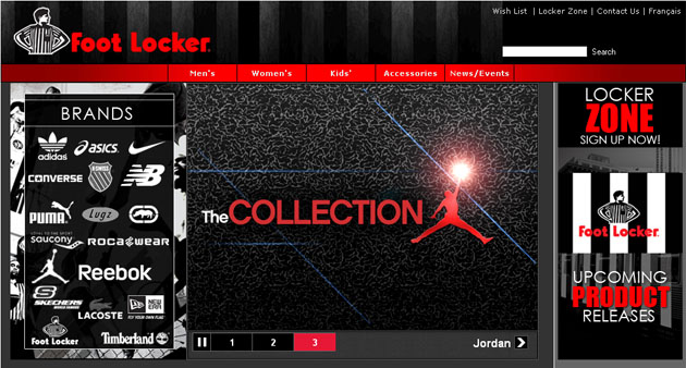 Foot Locker Online Store