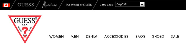 Guess Store Online