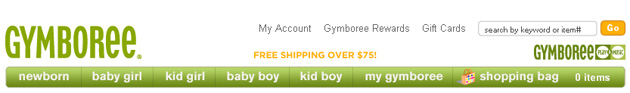 Gymboree Online Store