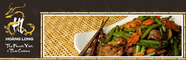 Hoang Long Restaurant Viet Thaï Online