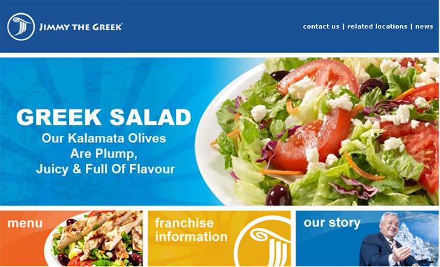 Jimmy The Greek Restaurant Online