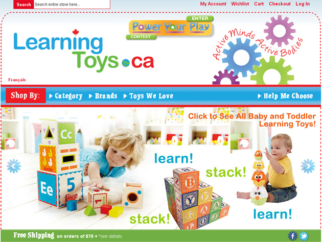 Learning Toys Online Store