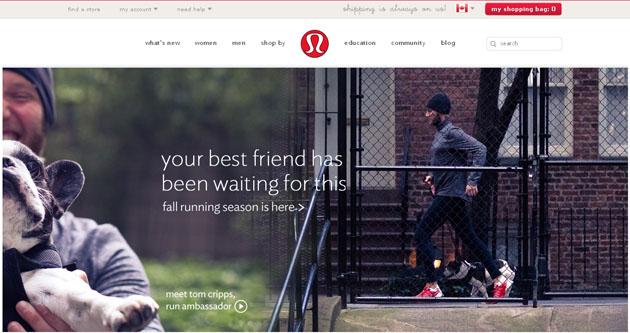 Lululemon Yoga Clothing Online Store