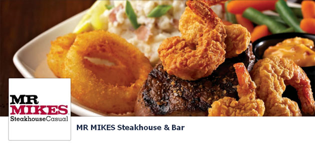 Mr Mikes Steakhouse & Bar Online
