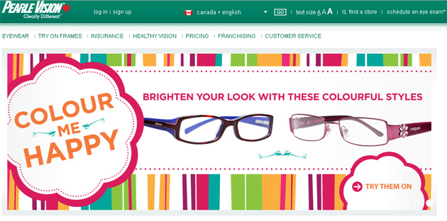 Pearle Vision Online Store