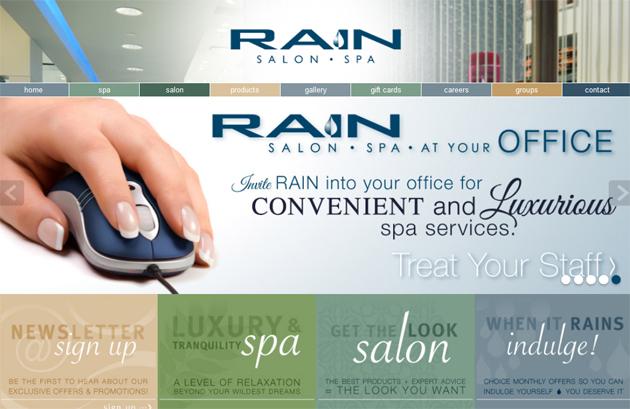 Rain Salon Spa Online