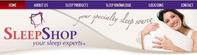 Sleep Shop Mattress Online Flyer