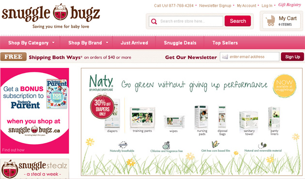 Snuggle Bugz Baby Care Online