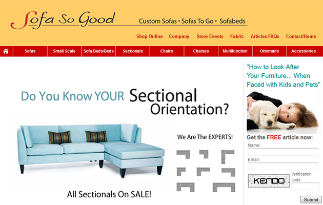 Sofa So Good Online