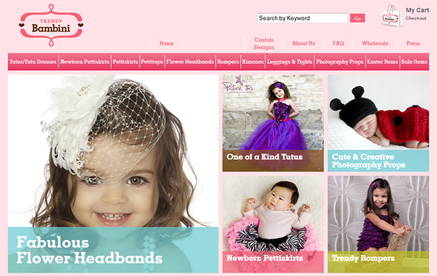 Trendy Bambini Online