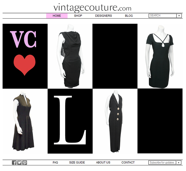 Vintage Couture Online