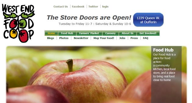 West End Food Co Op Online