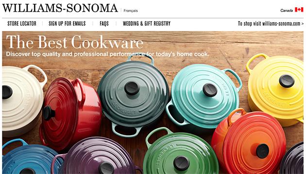 Williams Sonoma Online