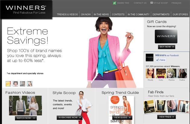 Winners Online Store